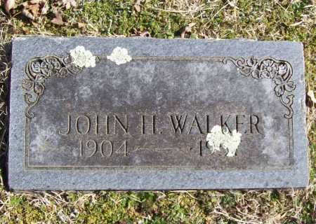 WALKER, JOHN H. - Benton County, Arkansas   JOHN H. WALKER - Arkansas Gravestone Photos