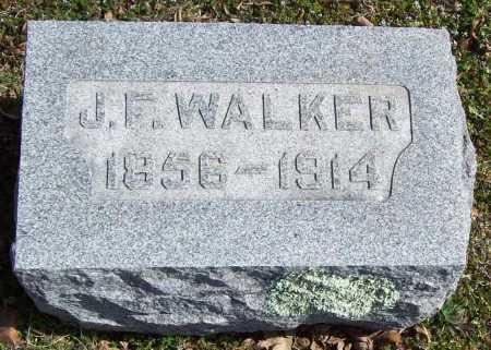 WALKER, JOHN FRANKLIN - Benton County, Arkansas | JOHN FRANKLIN WALKER - Arkansas Gravestone Photos