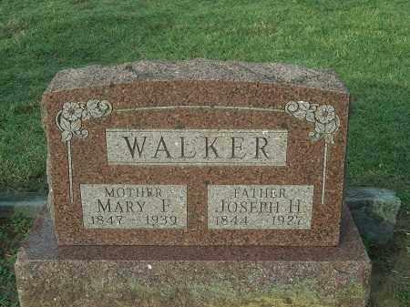 WALKER, JOSEPH H. - Benton County, Arkansas | JOSEPH H. WALKER - Arkansas Gravestone Photos