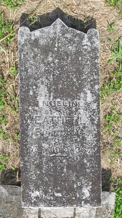 WEATHERLY, ANGELINE - Benton County, Arkansas | ANGELINE WEATHERLY - Arkansas Gravestone Photos