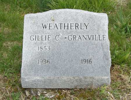 WEATHERLY, GILLIE C - Benton County, Arkansas | GILLIE C WEATHERLY - Arkansas Gravestone Photos
