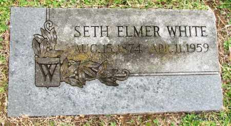 WHITE, SETH ELMER - Benton County, Arkansas | SETH ELMER WHITE - Arkansas Gravestone Photos