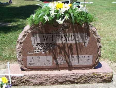 WHITESIDE, CECIL J. - Benton County, Arkansas | CECIL J. WHITESIDE - Arkansas Gravestone Photos