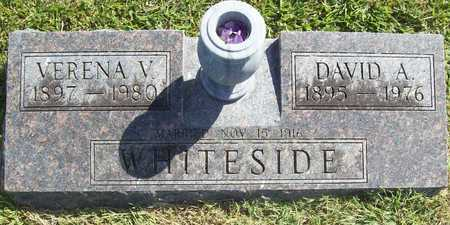 WHITESIDE, DAVID AGUSTUS - Benton County, Arkansas | DAVID AGUSTUS WHITESIDE - Arkansas Gravestone Photos