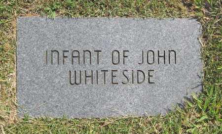 WHITESIDE, INFANT - Benton County, Arkansas   INFANT WHITESIDE - Arkansas Gravestone Photos