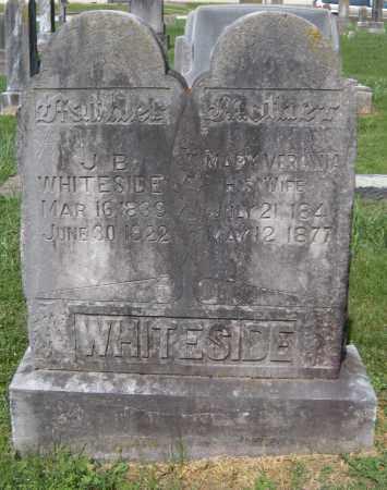 WHITESIDE (VETERAN CSA), JAMES BEATY - Benton County, Arkansas | JAMES BEATY WHITESIDE (VETERAN CSA) - Arkansas Gravestone Photos
