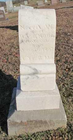 WHITESIDE, NORREL W - Benton County, Arkansas | NORREL W WHITESIDE - Arkansas Gravestone Photos