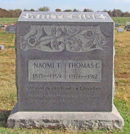 WHITESIDE, NAOMI F - Benton County, Arkansas | NAOMI F WHITESIDE - Arkansas Gravestone Photos