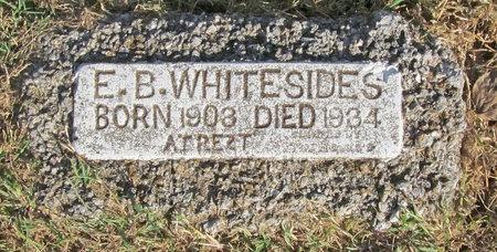 WHITESIDE, EARL B - Benton County, Arkansas | EARL B WHITESIDE - Arkansas Gravestone Photos