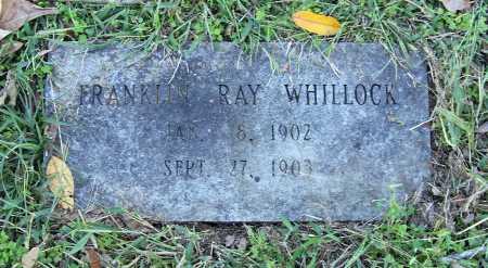 WHILLOCK, FRANKLIN RAY - Benton County, Arkansas | FRANKLIN RAY WHILLOCK - Arkansas Gravestone Photos