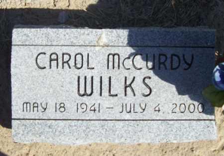 WILKS, CAROL - Benton County, Arkansas | CAROL WILKS - Arkansas Gravestone Photos