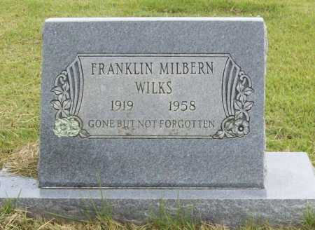 WILKS, FRANKLIN MILBERN - Benton County, Arkansas | FRANKLIN MILBERN WILKS - Arkansas Gravestone Photos