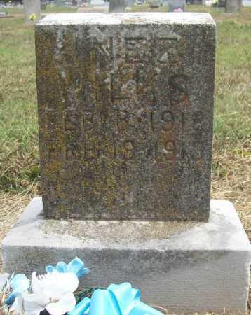 WILKS, INEZ - Benton County, Arkansas   INEZ WILKS - Arkansas Gravestone Photos