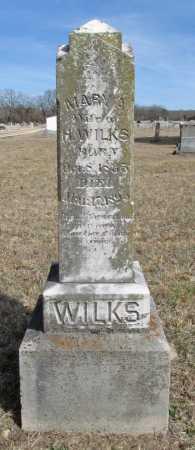 WILKS, MARY A - Benton County, Arkansas   MARY A WILKS - Arkansas Gravestone Photos