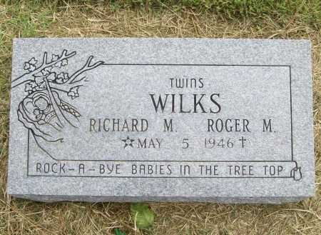 WILKS, RICHARD M. - Benton County, Arkansas | RICHARD M. WILKS - Arkansas Gravestone Photos