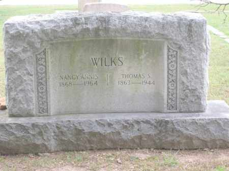 WILKS, THOMAS S. - Benton County, Arkansas | THOMAS S. WILKS - Arkansas Gravestone Photos