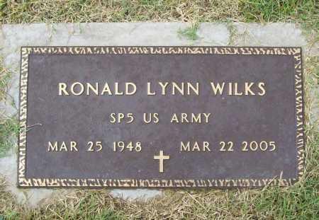 WILKS (VETERAN), RONALD LYNN - Benton County, Arkansas | RONALD LYNN WILKS (VETERAN) - Arkansas Gravestone Photos