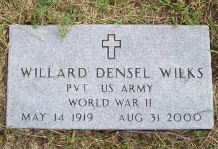 WILKS (VETERAN WWII), WILLARD DENSEL - Benton County, Arkansas   WILLARD DENSEL WILKS (VETERAN WWII) - Arkansas Gravestone Photos