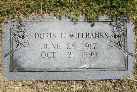 WILLBANKS, DORIS LORENE - Benton County, Arkansas | DORIS LORENE WILLBANKS - Arkansas Gravestone Photos