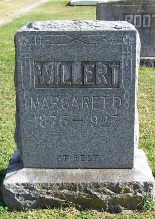 WILLERT, MARGARET D. - Benton County, Arkansas | MARGARET D. WILLERT - Arkansas Gravestone Photos