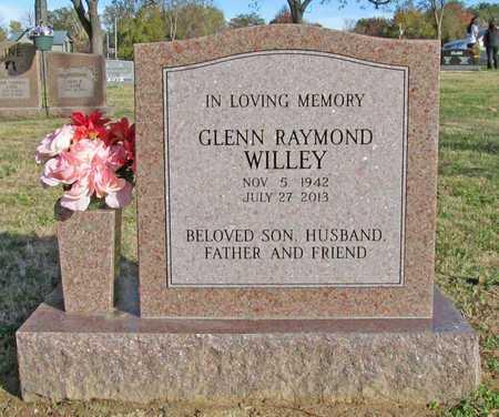 WILLEY, GLENN RAYMOND - Benton County, Arkansas | GLENN RAYMOND WILLEY - Arkansas Gravestone Photos