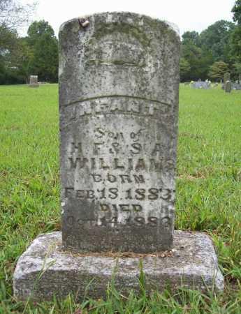 WILLIAMS, INFANT SON - Benton County, Arkansas | INFANT SON WILLIAMS - Arkansas Gravestone Photos