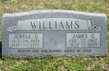 WILLIAMS, JEWELL G. - Benton County, Arkansas | JEWELL G. WILLIAMS - Arkansas Gravestone Photos