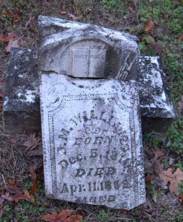 WILLIAMS, J.M. - Benton County, Arkansas | J.M. WILLIAMS - Arkansas Gravestone Photos