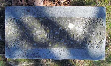 WILLIAMS, JAUNITA - Benton County, Arkansas   JAUNITA WILLIAMS - Arkansas Gravestone Photos