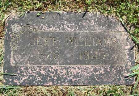 WILLIAMS, JEFF - Benton County, Arkansas | JEFF WILLIAMS - Arkansas Gravestone Photos
