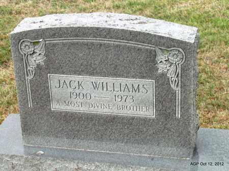WILLIAMS, JACK - Benton County, Arkansas | JACK WILLIAMS - Arkansas Gravestone Photos