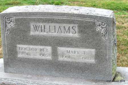 "WILLIAMS, JAMES REX ""DOCTOR"" - Benton County, Arkansas | JAMES REX ""DOCTOR"" WILLIAMS - Arkansas Gravestone Photos"