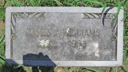 WILLIAMS, JAMES A - Benton County, Arkansas | JAMES A WILLIAMS - Arkansas Gravestone Photos