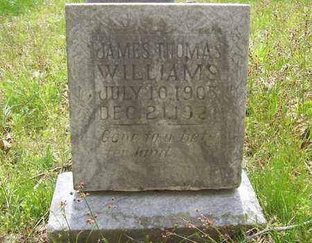 WILLIAMS, JAMES THOMAS - Benton County, Arkansas | JAMES THOMAS WILLIAMS - Arkansas Gravestone Photos