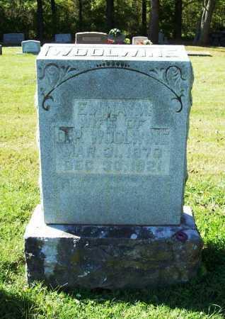 SHANKLINE WOOLWINE, EMMA M - Benton County, Arkansas | EMMA M SHANKLINE WOOLWINE - Arkansas Gravestone Photos