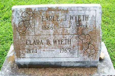 WYETH, EARLE J. - Benton County, Arkansas   EARLE J. WYETH - Arkansas Gravestone Photos
