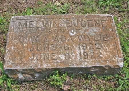 WYLIE, MELVIN EUGENE - Benton County, Arkansas   MELVIN EUGENE WYLIE - Arkansas Gravestone Photos