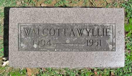 WYLLIE, WALCOTT A - Benton County, Arkansas | WALCOTT A WYLLIE - Arkansas Gravestone Photos
