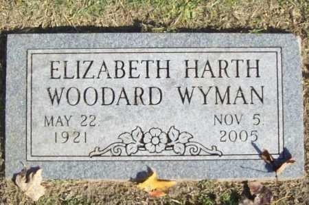 WYMAN, ELIZABETH - Benton County, Arkansas | ELIZABETH WYMAN - Arkansas Gravestone Photos