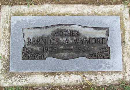 WYMORE, BERNICE A. - Benton County, Arkansas   BERNICE A. WYMORE - Arkansas Gravestone Photos