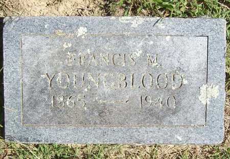 YOUNGBLOOD, FRANCIS M - Benton County, Arkansas | FRANCIS M YOUNGBLOOD - Arkansas Gravestone Photos