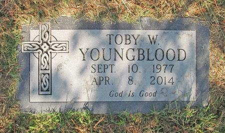 YOUNGBLOOD, TOBY W - Benton County, Arkansas | TOBY W YOUNGBLOOD - Arkansas Gravestone Photos