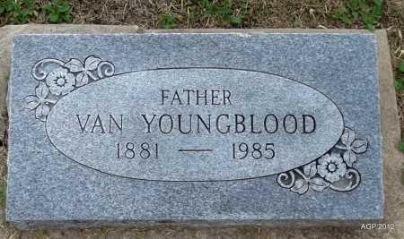 YOUNGBLOOD, VAN - Benton County, Arkansas | VAN YOUNGBLOOD - Arkansas Gravestone Photos