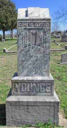 YOUNGE, A.C. - Benton County, Arkansas | A.C. YOUNGE - Arkansas Gravestone Photos