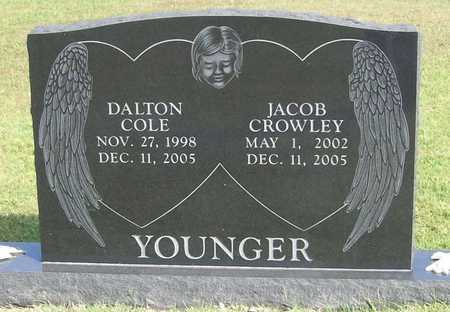 YOUNGER, JACOB CROWLEY - Benton County, Arkansas | JACOB CROWLEY YOUNGER - Arkansas Gravestone Photos
