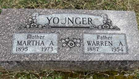 YOUNGER, MARTHA A - Benton County, Arkansas | MARTHA A YOUNGER - Arkansas Gravestone Photos