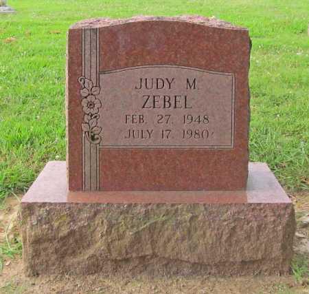 ZEBEL, JUDY M - Benton County, Arkansas | JUDY M ZEBEL - Arkansas Gravestone Photos