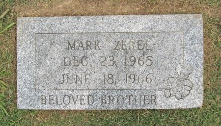 ZEBEL, MARK - Benton County, Arkansas | MARK ZEBEL - Arkansas Gravestone Photos