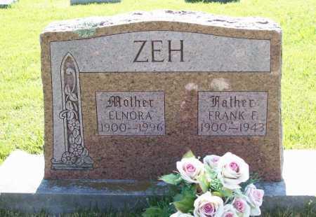 ZEH, FRANK F. - Benton County, Arkansas | FRANK F. ZEH - Arkansas Gravestone Photos