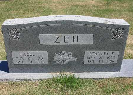 ZEH, STANLEY F. - Benton County, Arkansas | STANLEY F. ZEH - Arkansas Gravestone Photos